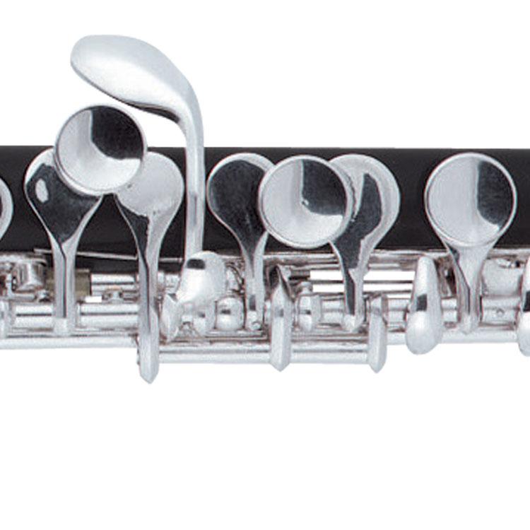 高音Eの音を容易に発音する為のEメカニズム付きなので、第3オクターブ目のEの音も安心です。